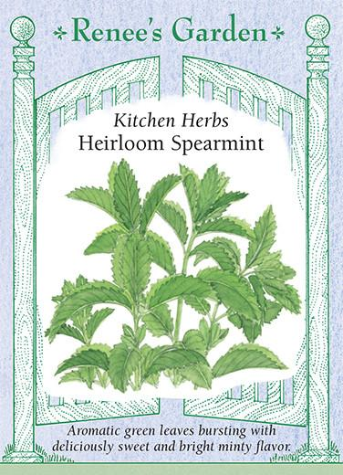 spearmint-kitchen-herbs-heirloom-renees-garden