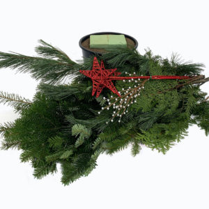 christmas-porch-pot-diy-kit-red-star-001