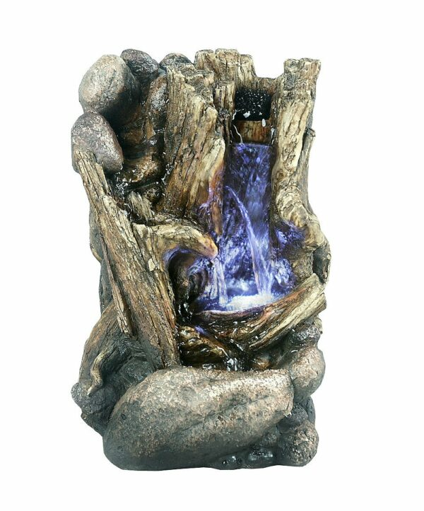 fibre-resin-tree-trunk-fountain-with-led-light